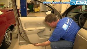 how to install remove front door panel manual windows chevy cobalt