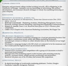 Resume Template For College Graduate Bright Inspiration College Graduate Resume Sample 6 Internship