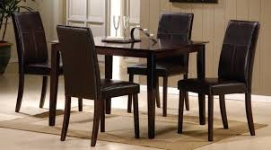 Modern Leather Dining Room Chairs Dining Chairs Amazing Dining Room Chairs Set Of 4 For Small