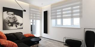 Interior Themes by 6 Perfectly Minimalistic Black And White Interiors