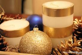 Gold Christmas Centerpieces - christmas centerpiece well groomed home