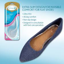 Comfort Flat Shoes Amope Gelactiv Flat Shoes Insoles For Women 1 Pair Size 5 10 Amope