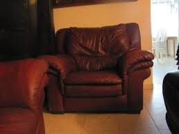 Leather Sofa And Armchair 2nd Hand Furniture Highest Quality Lowest Prices Email Us