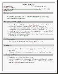 Free Resume Template Doc Resume Templates For Wordpad Simple Sample Of Resume Resume