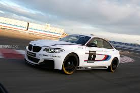 bmw car racing bmw m235i racing shows race car assembly in leipzig