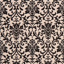 color canvas fabric black ornament pattern flower from