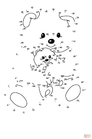 free printable dot pictures coloring pages preschoolers