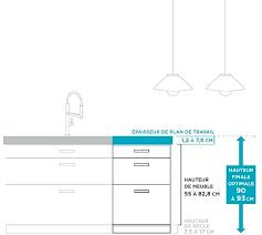 hauteur meuble haut cuisine hauteur meuble haut cuisine rapport plan travail meuble plan travail