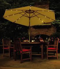 Patio Umbrella Lighting Rite Lite Patio Umbrella Lights Suitable Plus 11 Ft Patio Umbrella