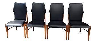 lane furniture dining room set of 4 lane high back walnut dining chairs u2013 atomic flat