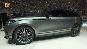 2018 range rover velar now this is my style of suv youtube