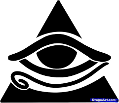 how to draw all seeing eye all seeing eye by symbols