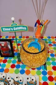 Elmo Centerpieces Ideas by Elmo U0027s Goldfish Cute Idea For A Kid U0027s Party Kiddos Pinterest