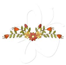 clipart divider leaves lines thanksgiving clipart collection