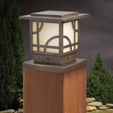 Kichler Deck Lights Larkin Estate Post Cap Light By Kichler Decksdirect
