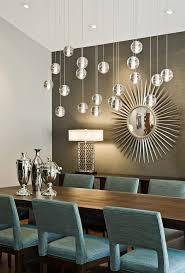 Mirror Over Dining Room Table - mirror behind dining table dining room midcentury with silver