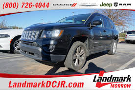 jeep compass side used one owner 2014 jeep compass latitude morrow ga near atlanta