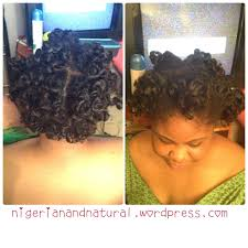 Protective Styles For Short Transitioning Hair - bantu knot out on short natural hair vs on relaxed transitioning