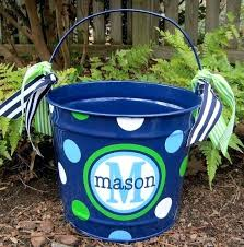 personalized buckets personalized easter buckets get ready for personalized easter tin