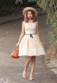 dress pearl necklace images Mellow mayo blogger sleeveless dress cute dress cocktail dress jpg