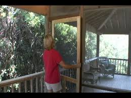 Patio Screen Frame How To Install A Solid Wood Screen Door From Screen Tight Youtube