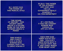 fascinating baby shower jeopardy game questions and answers made