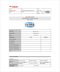 land survey report template sle site survey template 8 free documents in word pdf