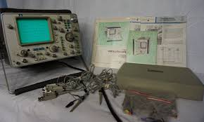 hp 1740a hewlett packard 100 mhz 2 channel oscilloscope u2022 139 99