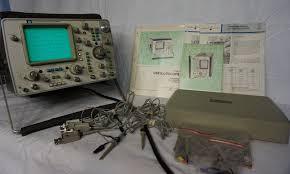 hp 1740a hewlett packard 100 mhz 2 channel oscilloscope u2022 139 99