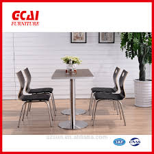stainless steel dining table and chair sets stainless steel