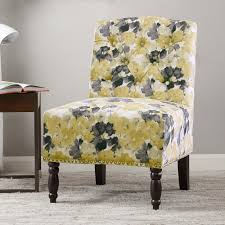 Yellow And Gray Accent Chair Park Serena Accent Chair