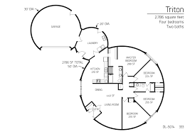 earth homes floor plans floor plan dl 5014 monolithic dome institute i u0027d add a craft