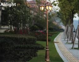 Landscape Lighting Wholesale Wholesale Europe Garden Outdoor Lighting Poles Black Bronze