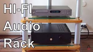 Ikea Audio Rack Diy Hi Fi Audio Rack Youtube