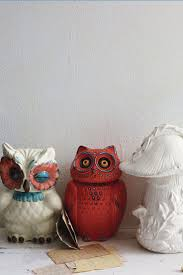 Red Ceramic Canisters For The Kitchen 457 Best Owl Cookie Jar Uil Koektrommel Images On Pinterest Owl