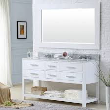 Abbey 60 Inch Vanity 60 Inch Vanity 60 Inch Double Bathroom Vanity Glass Top With