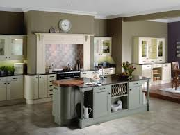 Gray Backsplash Kitchen Nice French Kitchen Super Modern Island With Apliances Storaging