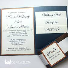 wedding invitations calgary ideas rustic pocketfold wedding invitations or rustic wedding