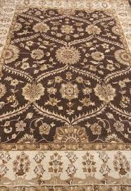 Brown Area Rugs Brown Handmade Traditional Wool Area Rug Carpet