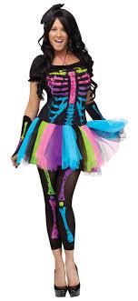 skeleton costume womens women s neon skeleton costume costumes