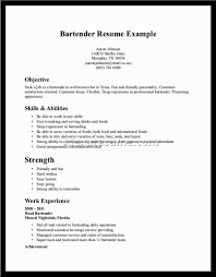 Example Bartender Resume Head Bartender Sample Resume Stock Analyst Job Description