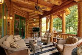 Log Home Interior Walls by Outdoor Entertainment Areas For Your Log Home