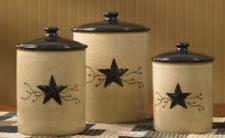 brown canister sets kitchen primitive canister set ebay