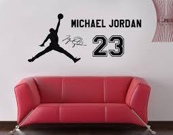 28 jordan wall sticker aliexpress com buy 2017 michael jordan wall sticker michael jordan 23 decal wall sticker art home decor