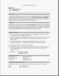 Fresher Accountant Resume Sample Brilliant Ideas Of Sap Mm Resume Sample For Freshers Also Format