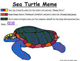 Turtle Meme - sea turtle meme colored by seph018 on deviantart