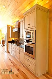 Log Cabin Kitchen Images by Golden Eagle Log And Timber Homes Log Home Cabin Pictures