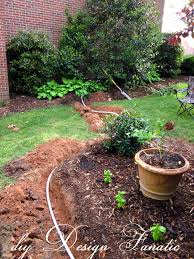diy design fanatic install a drip irrigation system to make your