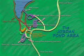 Acadia National Park Map Parking At Jordan Pond House Acadia National Parkjordan Pond