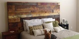 Do It Yourself Headboard Fabulous Rustic Headboard Made Out Of Pallets It S So Unique